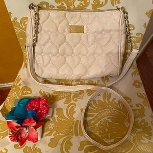 ⭐️ 3 for $25 Betsey Johnson Quilted heart purse